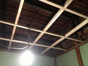 天井木組み