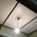 再建築不可 セルフリフォーム 天井板張替え 完品