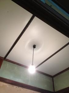 天井アフター