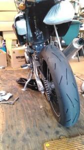 バイクオイル交換