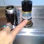 タブチ水栓 新品パッキンと新品カートリッジ交換作業