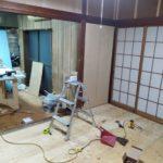 2棟目グループホームの床や壁はるべ。